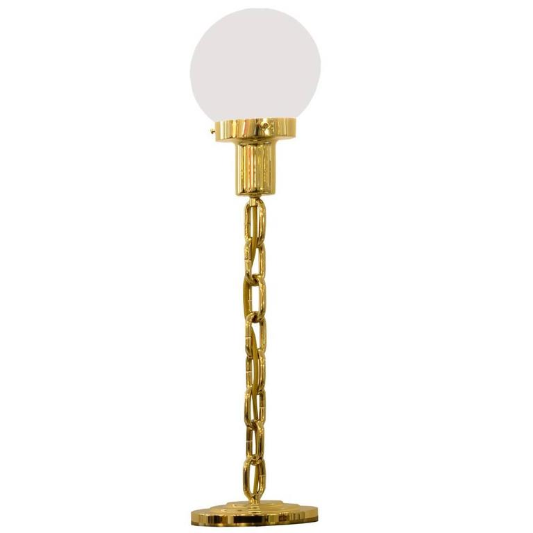 "Woka Table Lamp 1914  ""Go West"", Re-Edition"