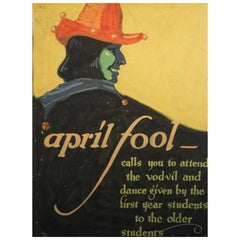 """April Fool,"" Original Painting for Pennsylvania Academy Dance"