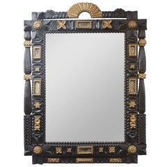 Large Folk Art Mirror