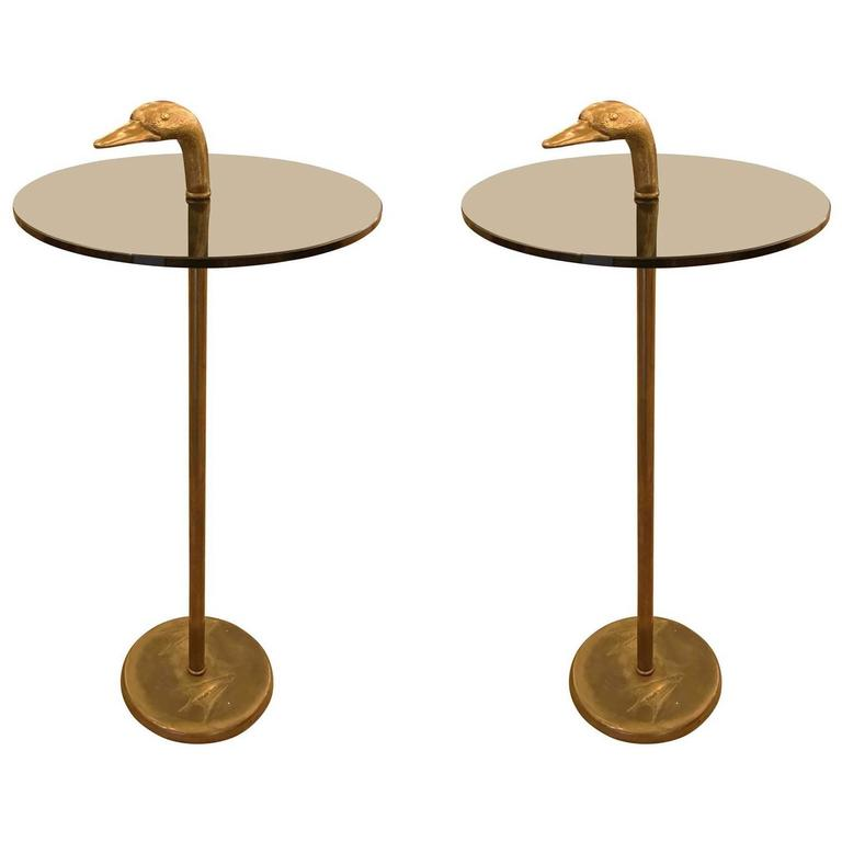 Pair of Duck Themed Side Tables by Banci 1