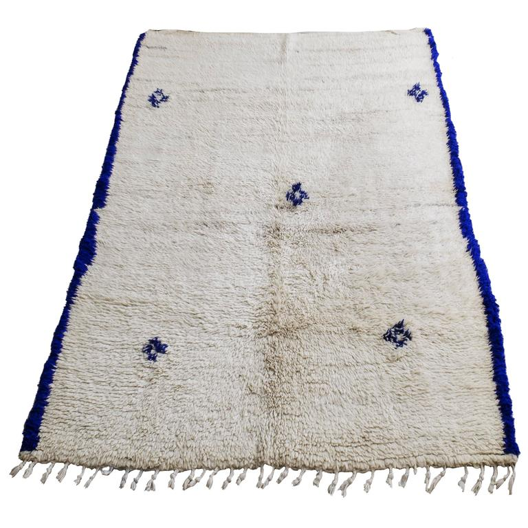 Moroccan Beni Ouarain Rug For Sale