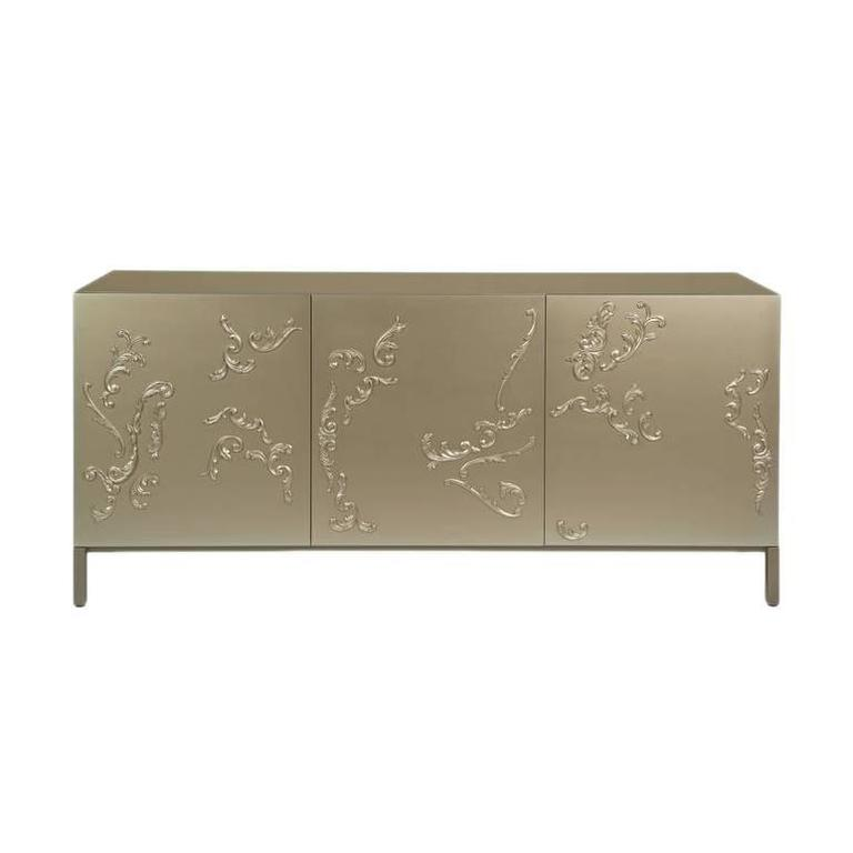 Lacquered French Decoration Cabinet by Sam Baron 1
