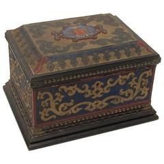 19th Century European Document Keepsake Box