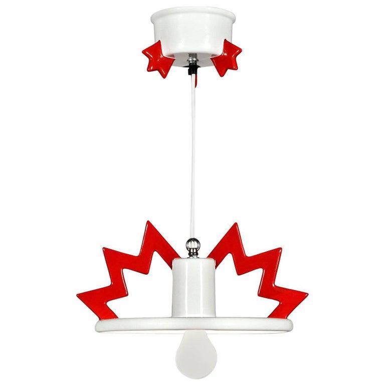 Santa Fe Ceramic Hanging Lamp by Matteo Thun for Memphis 1