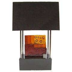 Custom Art Glass Sculpture Lamp from Arthur Elrod Interior