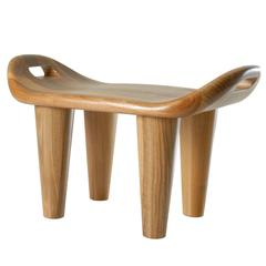 Stool Walnut Philippe Cramer