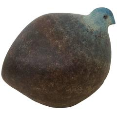 Ceramic Bird, circa 1970, France