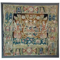 Antique North German Mythological Tapestry, First Half of the 17th Century