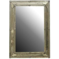 The Angie-2 Rectangular Venetian Style Mirror, Handmade and Hand Silvered