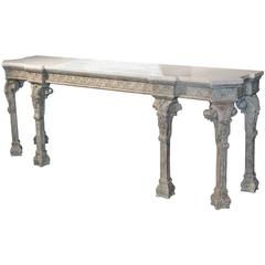 19th Century English Chippendale Console