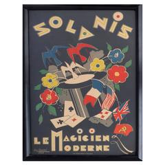 French Art Deco Poster by George Conde