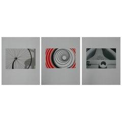 Set of Three Signed Sturtevant Serigraphs