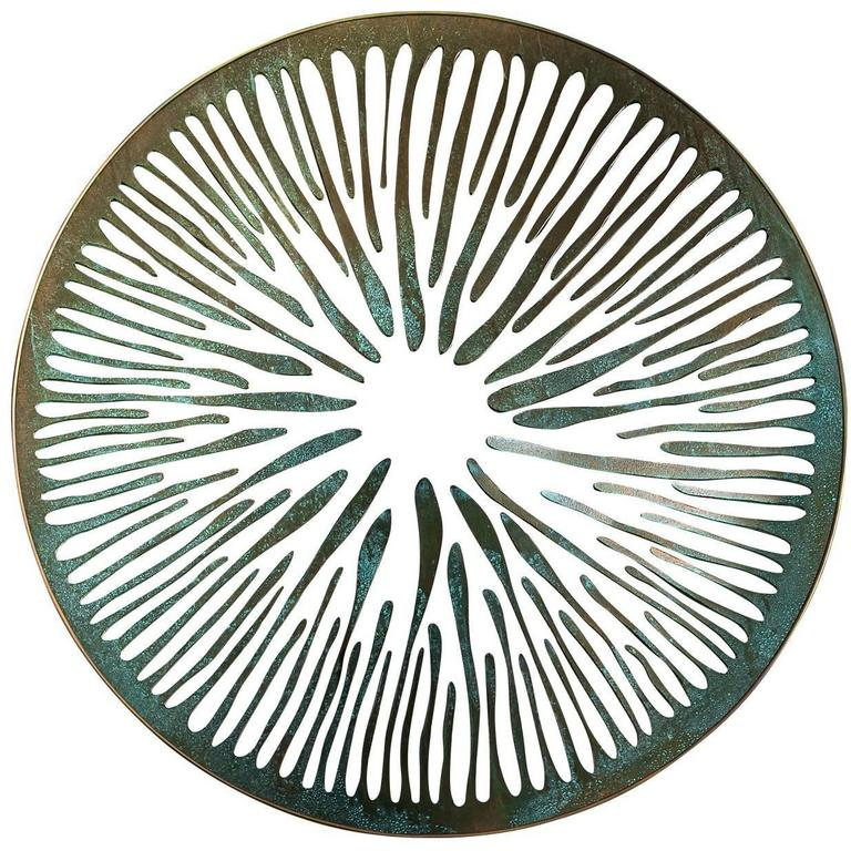 The Pupil Sculptural Mirror N°7 For Sale