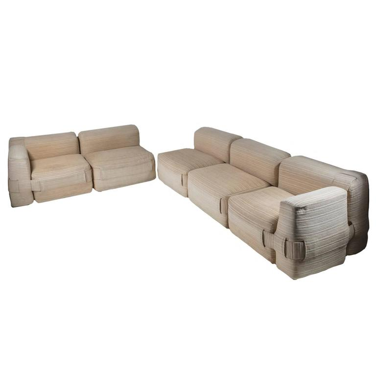 """932"" Sofa Set by Mario Bellini for Cassina For Sale"