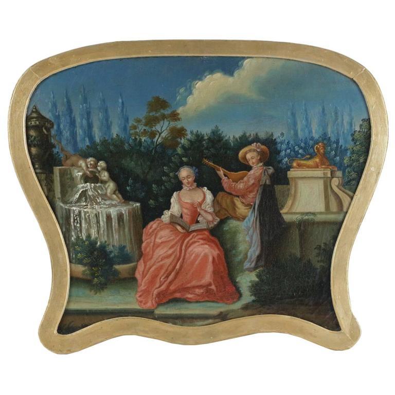 18th Century French School 'Scène Galante'