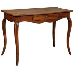 French Walnut Writing Table