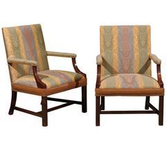 Custom-Made Martha Washington Chair