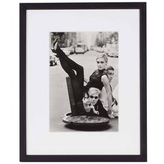 "Bruce Glinn, ""Andy Warhol with Edie Sedgwick and Chuck Wein"""