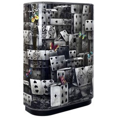 Fornasetti Curved Cabinet Notturno Color, 2015