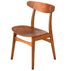 "Single Hans Wegner ""CH-30"" Chair"