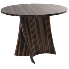 Andino Side Table in Macassar Ebony from Costantini, Customizable