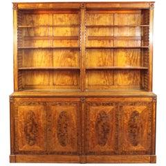 George III Satinwood Bookcase