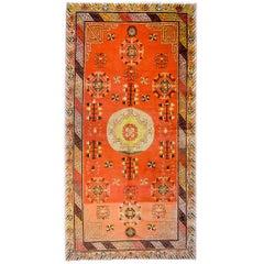 Amazing Early 20th Century Khotan Rug
