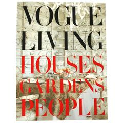 """Vogue Living Houses Gardens People"" Book by Hamish Bowles, First Edition"