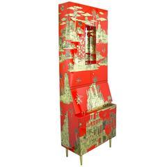 A fornasetti architettura cabinet at 1stdibs - Fornasetti mobili ...