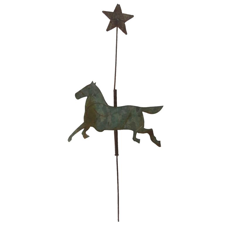 19th Century Tinplate Weather-Vane