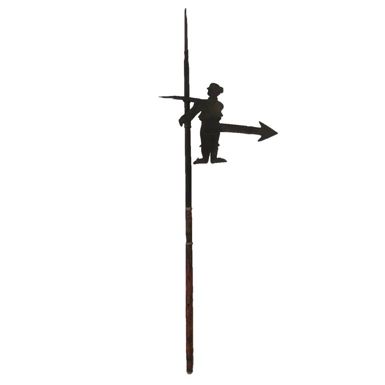 18th Century Iron Weather-Vane