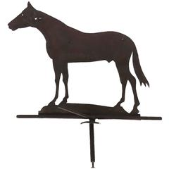 19th Century Horse Iron Weather-Vane