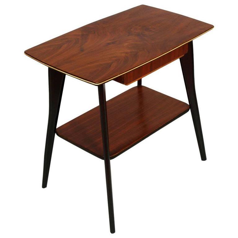 1950s Console Little Table Mid-Century Modern De Baggis Cantù Manner Ico Parisi