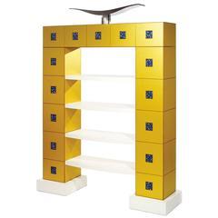 "Alessandro Mendini, Bookcase ""Helianthus"", Design Gallery, Italy"