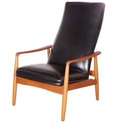 Mid Century Recliner Chair by Soren Ladefoged