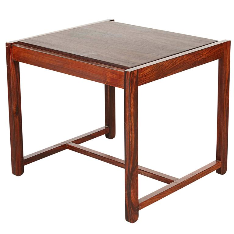 Danish Reversible End Table / Ottoman 1