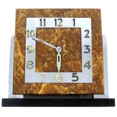 Impressive Modernist 1930s Art Deco Clock