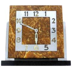 Impressive Modernist 1930s Art Deco Clock