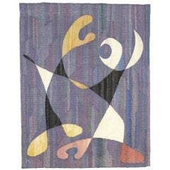 """Boogie Woogie"", Artur Hytting, Pierre Olofsson, Swedish Wall Hanging"