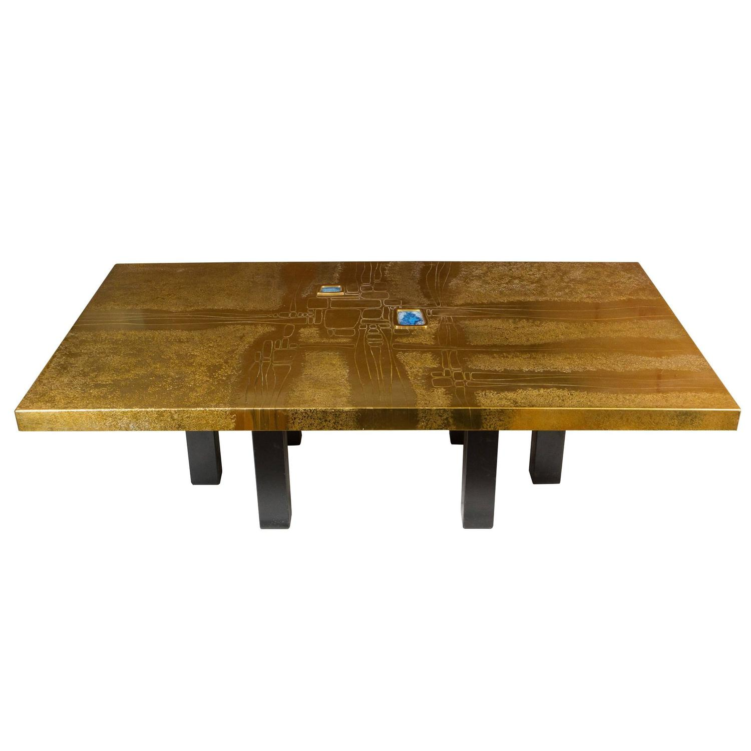 Custom Coffee Table by Lova Creation For Sale at 1stdibs
