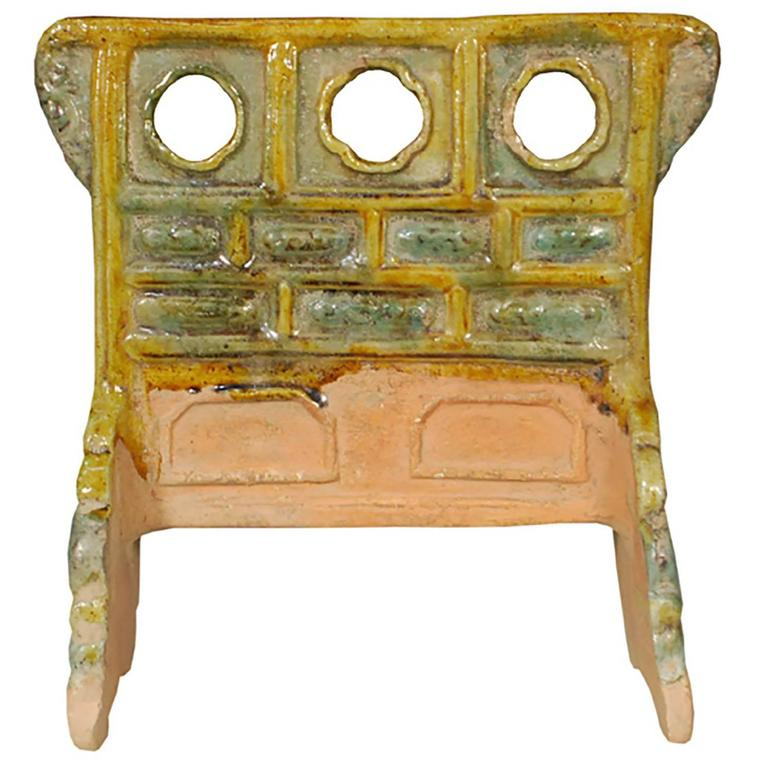 Miniature Chinese Mingqi Robe Rack