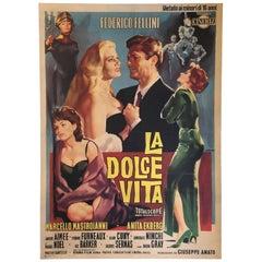 "Original ""La Dolce Vita"" Film Poster, 1960"