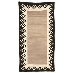 Vintage Navajo Double Saddle Blanket (Area Rug), Early 20th Century