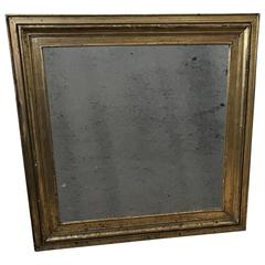 Square 19th Century Empire Wall Mirror