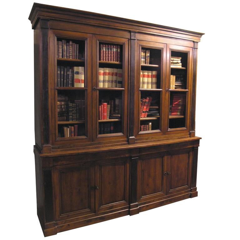 Antique Walnut Bookcase