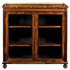 Antique Two Door Bookcase