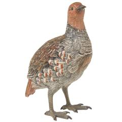 Austrian Cold Painted Bronze Grouse