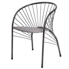 "Paolo Pallucco ""Lizie"" Iron Armchair 1984, Original Piece of Modern Art"