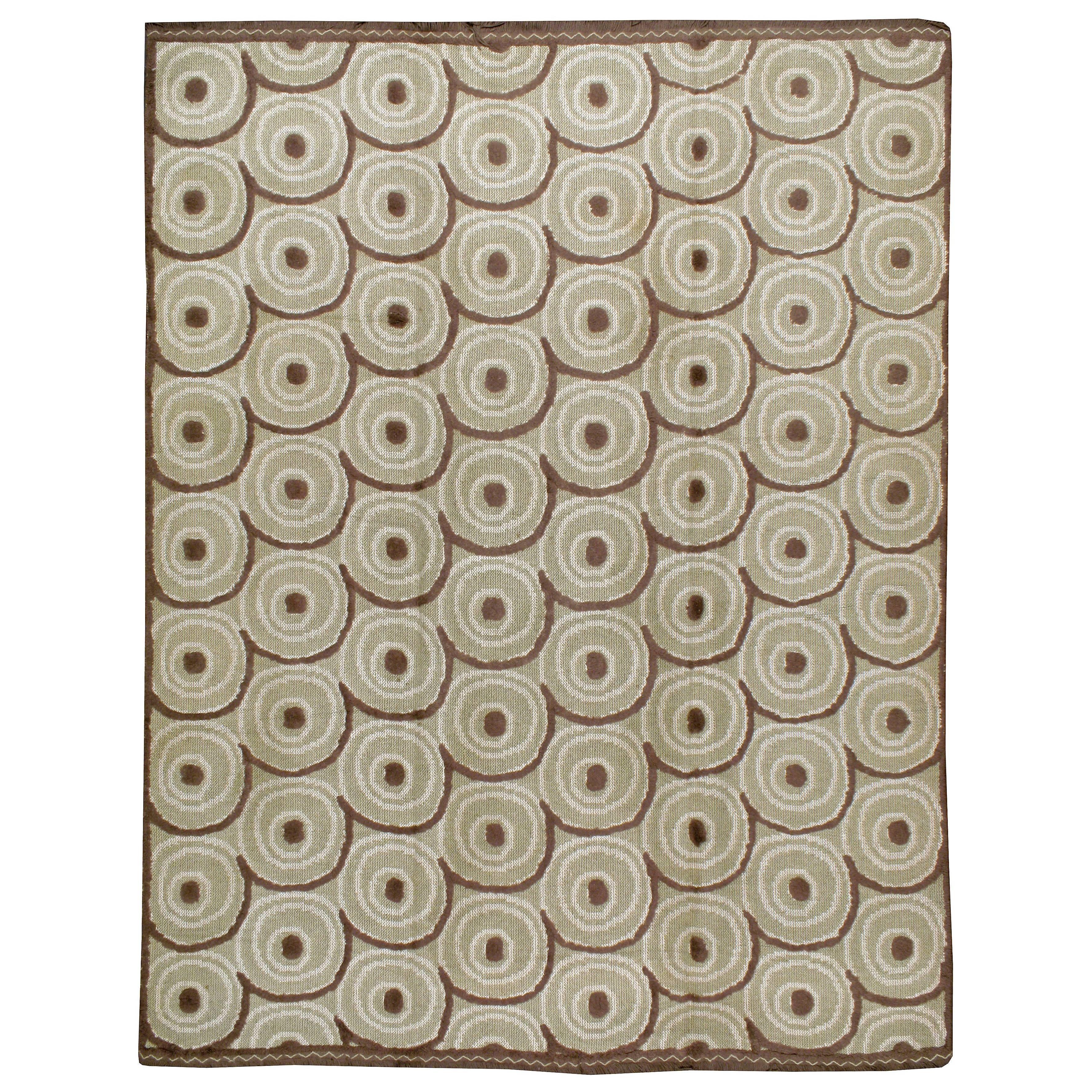 Vintage Spanish Textile Flat-weave Rug