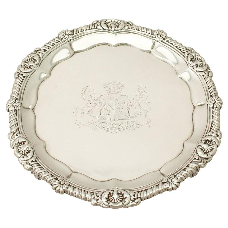 Sterling Silver Salver by Paul Storr